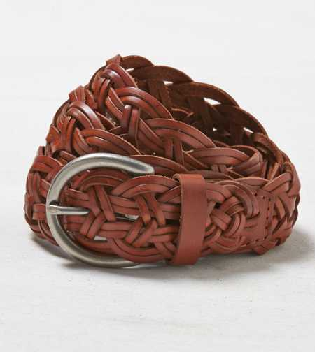 AEO Braided Leather Belt