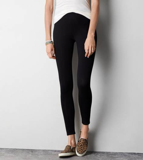 Black AEO Hi-Rise Legging