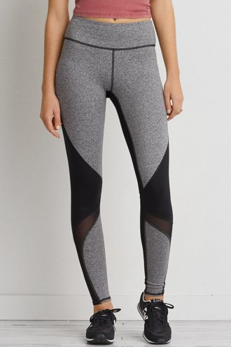 AEO Mesh Panel Hi-Rise Legging