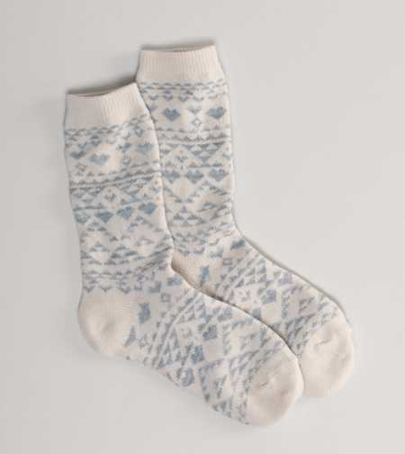 AEO Printed Crew Sock - 3 for $15.50