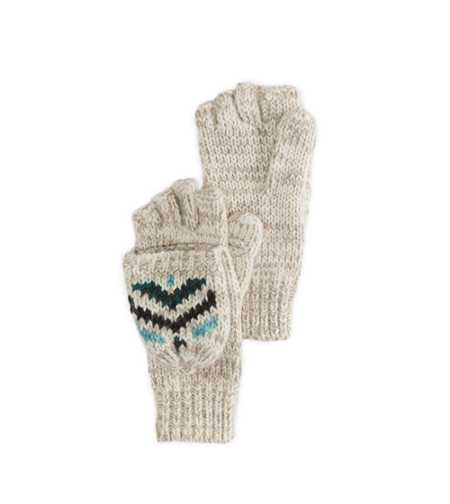 AEO Fair Isle 2-Way Mittens