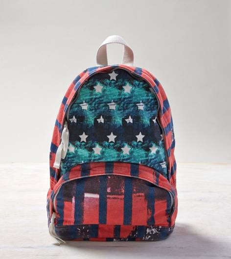 Multi AEO Mixed Graphic Backpack