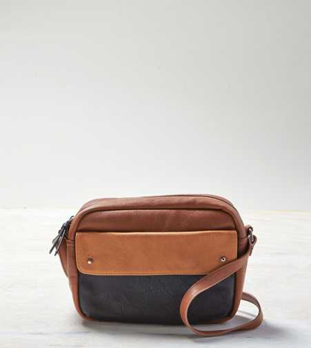 AEO Colorblock Pouch Purse
