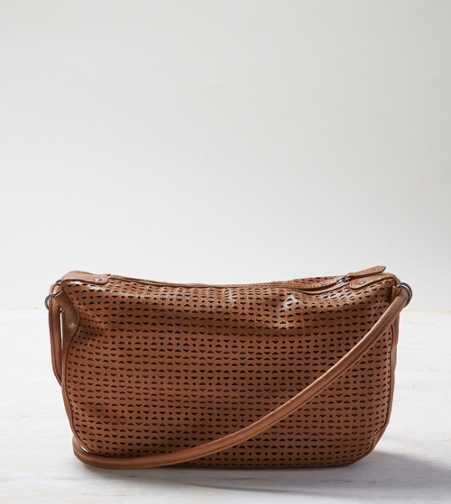 AEO Perforated Faux Leather Bag