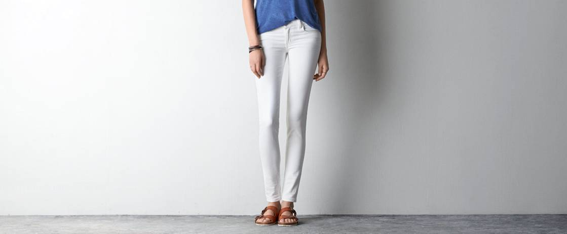 White  White Jegging