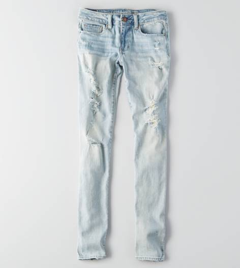 Light Destroy Vintage Skinny Jean