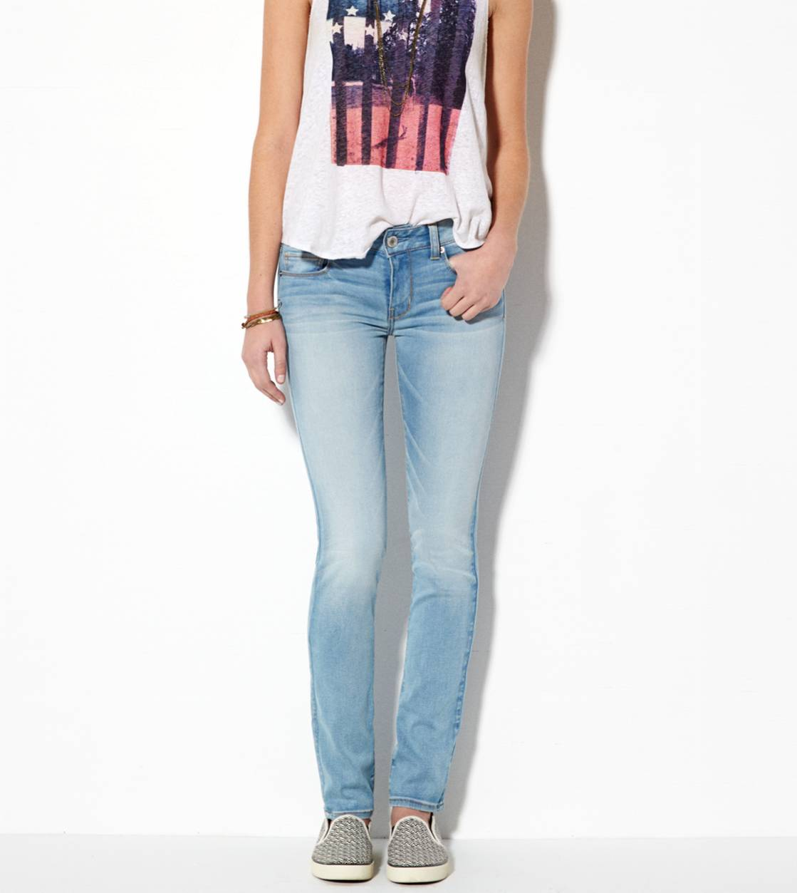 Light Wash Skinny Jean