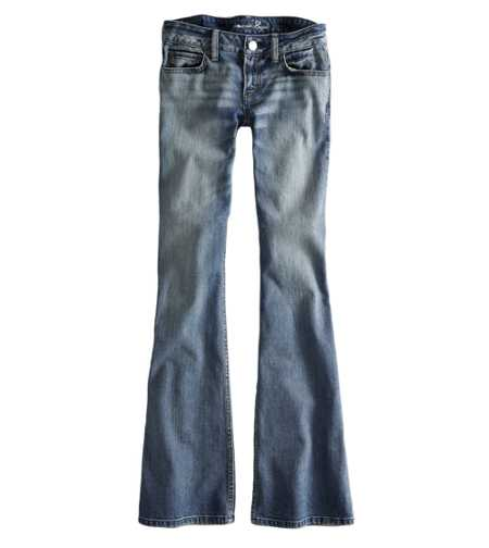 AE Hipster Flare Jean - Tinted Medium