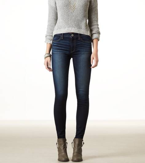 Dark Indigo Wash Hi-Rise Jegging