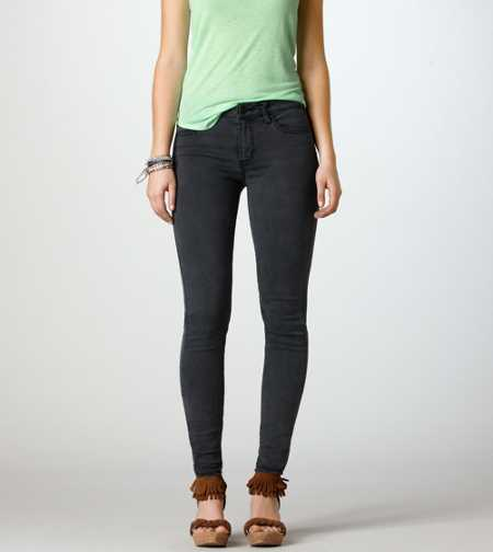 Hi-Rise Jegging - Grey
