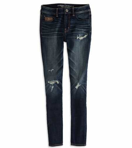 High-Rise Jegging - Dark Destroy