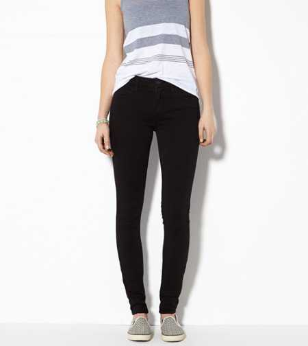 Hi-Rise Jegging - Rinsed Coal - Super Stretch