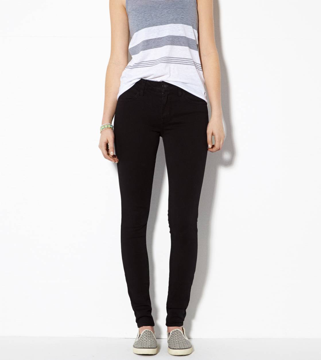 True Black High-Rise Jegging