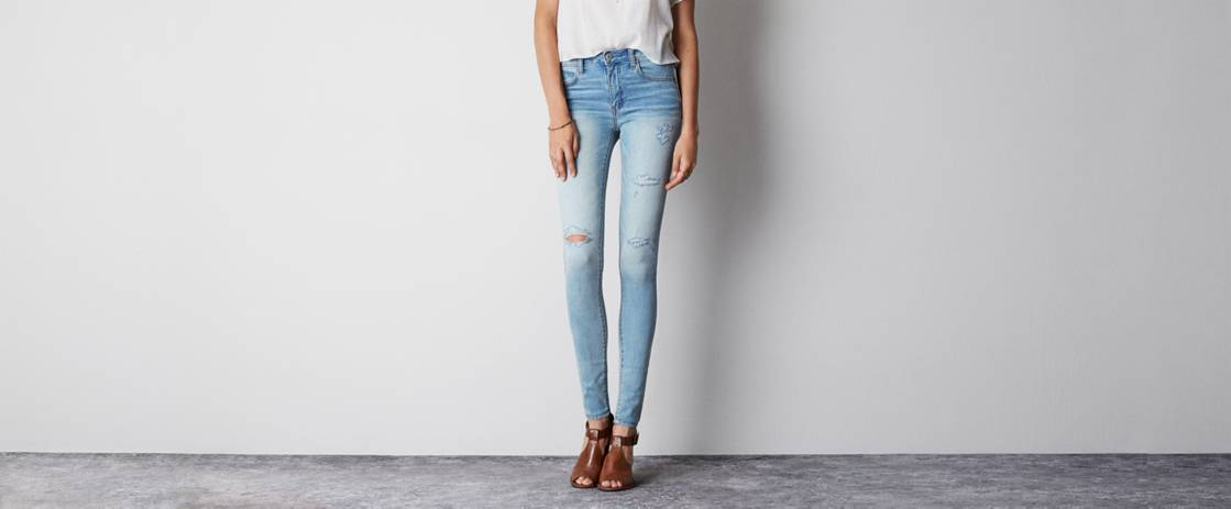 Light Destroy Wash High-Rise Jegging