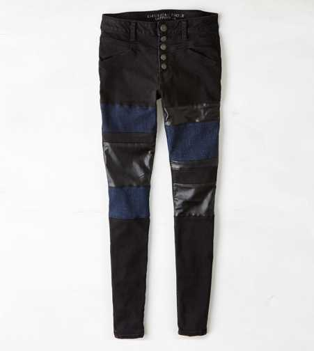 Hi-Rise Jegging - Totally Black