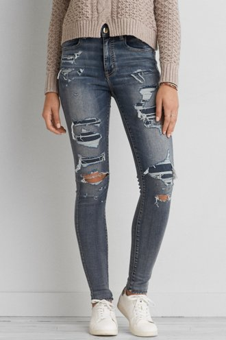 AEO Denim X Cafe Hi-Rise Jegging - Buy One Get One 50% Off