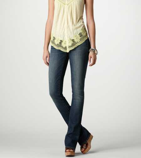 Skinny Kick Jean - ANTIQUE MEDIUM- SUPER STRETCH