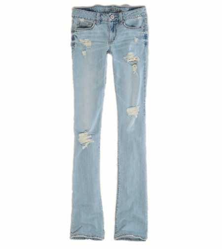 Skinny Kick Jean - Light Destroy Vintage