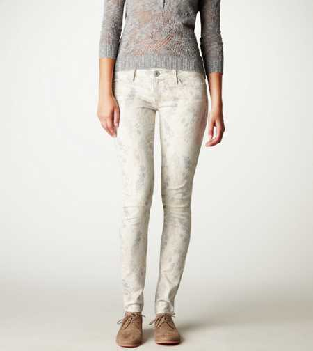 Animal-Print Jegging