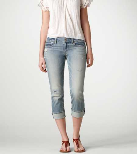 Artist Crop Jean - LIGHT WASH