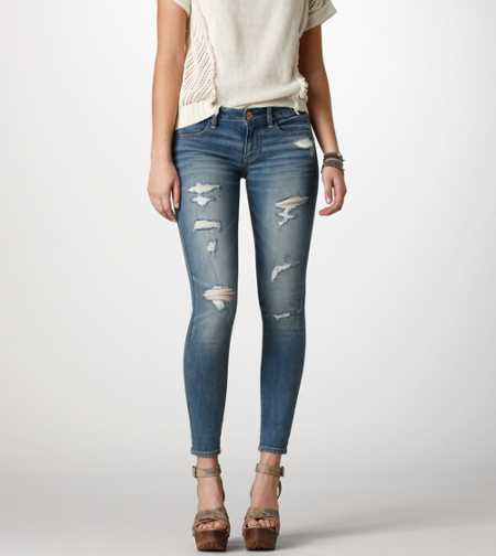 Jegging Ankle - ANTIQUE LIGHT DESTROY