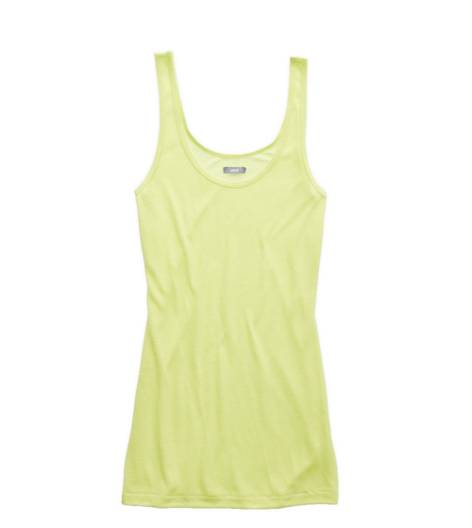 Lemon Lime Infusion Aerie Scoop Neck Tank