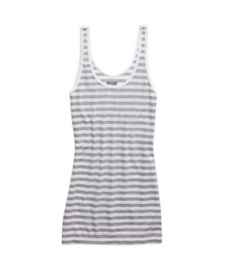 Aerie Striped Scoop Neck Tank