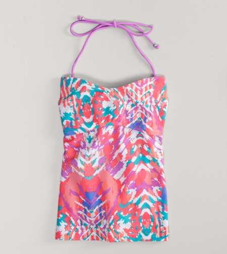 AE Printed Tankini Top