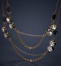 AE Antique Rhinestone Necklace