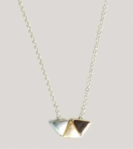 AEO Triangle Necklace - Take 40% Off