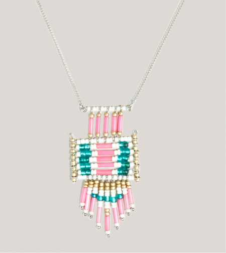 AEO Beaded Pendant Necklace