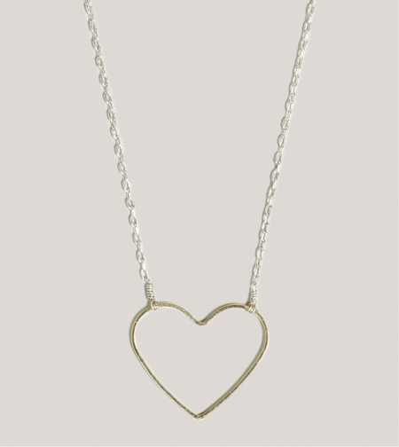 AEO Heart Necklace - Take 40% Off