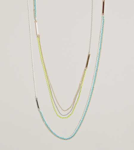 AEO Sprayed Chain Necklace