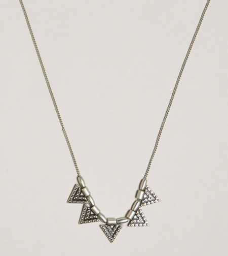 AEO Triangle Charm Necklace - Take 40% Off