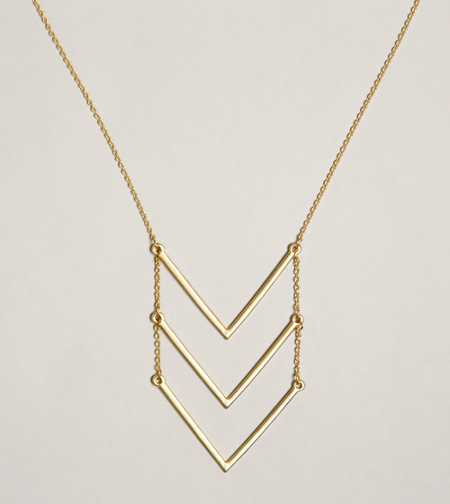 AEO Triple V Necklace