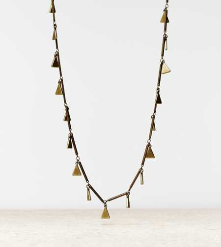 AEO Triangle Charm Necklace