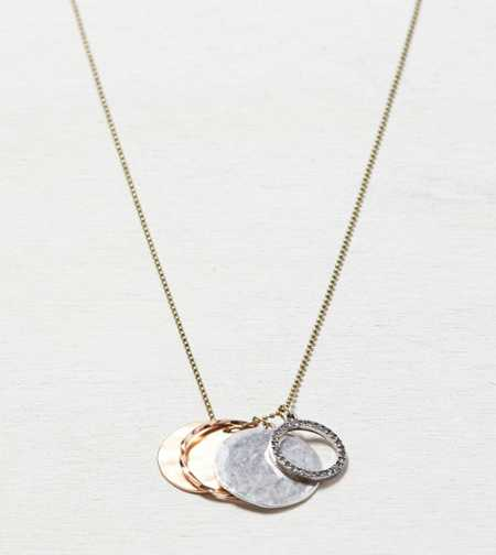 AEO Hoop Charm Necklace - Buy One Get One 50% Off