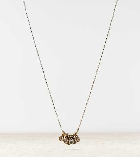 AEO Rhinestone Charm Necklace - Buy One Get One 50% Off