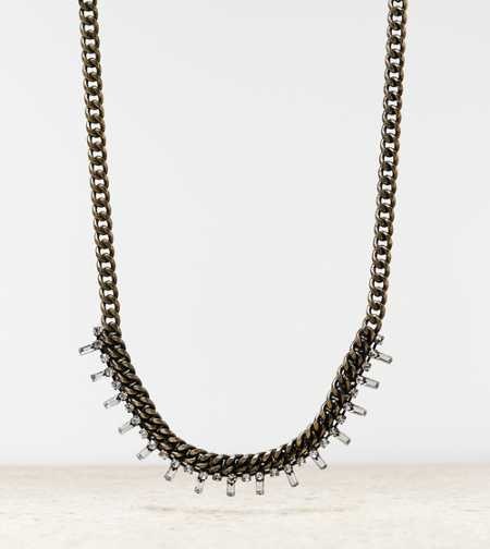 AEO Baguette Chain Necklace - Buy One Get One 50% Off