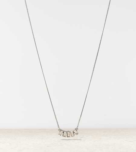 AEO Baguette Charm Necklace - Buy One Get One 50% Off