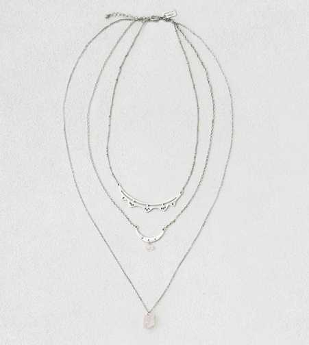 AEO Pink Bead Layer Necklace  - Buy One Get One 50% Off
