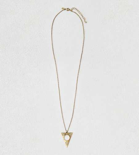 AEO Triangle Pendant Necklace  - Buy One Get One 50% Off