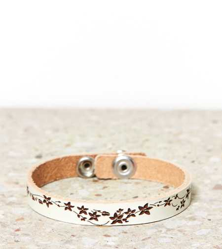 AEO Painted Leather Cuff