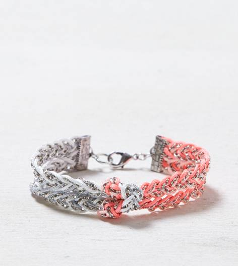 Multi AEO Braided Knot Bracelet