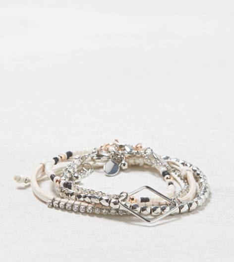 Multi AEO Mixed Metal Bracelet Set