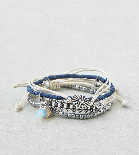 AEO Silver & Blue Arm Party  - Buy One Get One 50% Off