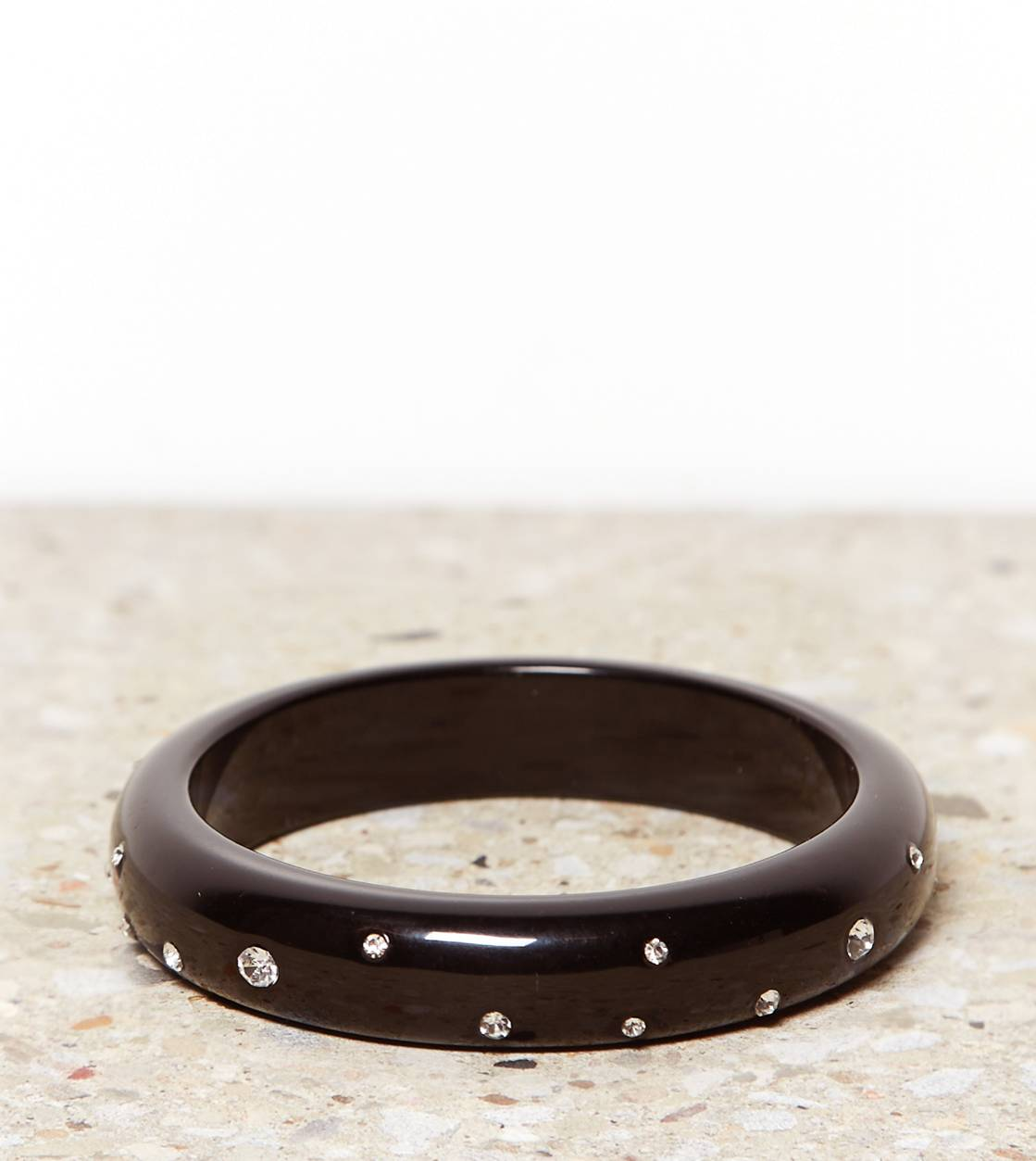 Black AE Rhinestone Bangle