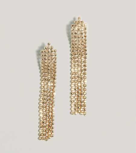 AEO Fringed Chain Earrings