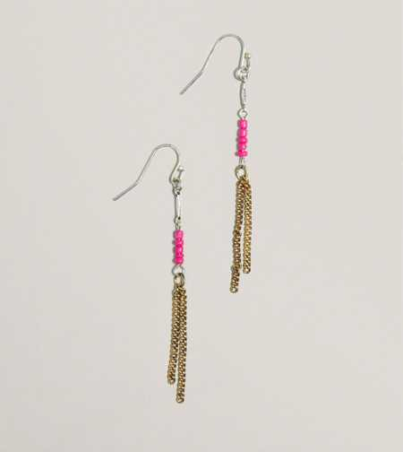 AEO Beaded Chain Earrings