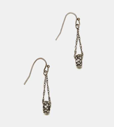 AEO Chain Disc Earrings
